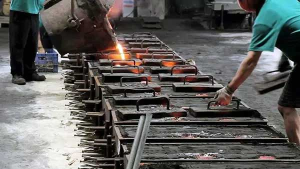 steel ball casting manufacturing process